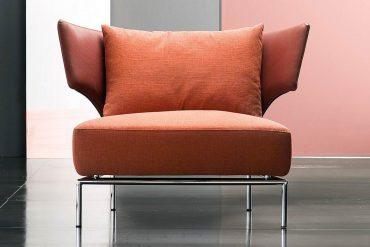 erba italia abbraccio armchair