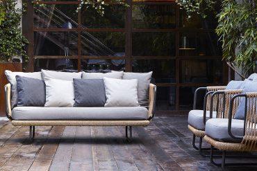 Babylon Sofa by Varaschin Available at Arravanti in Miami