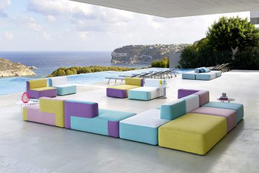 Belt Sofa by Varaschin Available at Arravanti in Miami