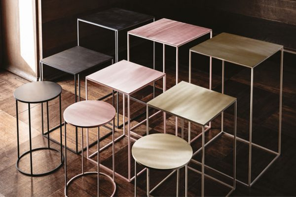 9500 Side Tables by Vibieffe Available at Arravanti